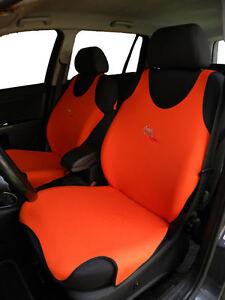 2 SCHWARZ FRONT WESTE T-SHIRT Auto Sitzbezüge Schutz für Volvo XC60
