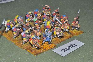 Infanterie de nain Fantasy Flintloque 28 mm 20 figurines {16} (20081)
