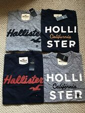 Hollister Wholesale LOT OF 4 Men's Tee shirts SMALL multi colors NWT