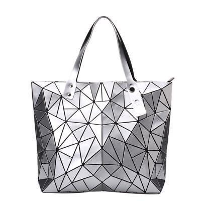 Women's Luxury Handbag Shoulder Clutch Bag Hologram Fashion Messenger Top-handle