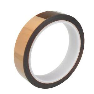 10mm*100ft 30m High Temperature Heat Resistant Polyimide Gold Koptan Tape Press