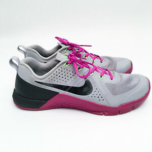 Nike-Metcon-Flywire-Women-s-Shoes-US-8-5-Crossfit-Training-Sneakers-813101-005