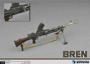 Soldier-Weapon-Model-WWII-Bren-MK-Machine-Gun-1-6-ZY-Toys-Action-Figure