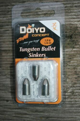Iron Claw Doiyo Concept Tungsten Bullet Sinkers Blei 3,5 g 7 g 5,2 g