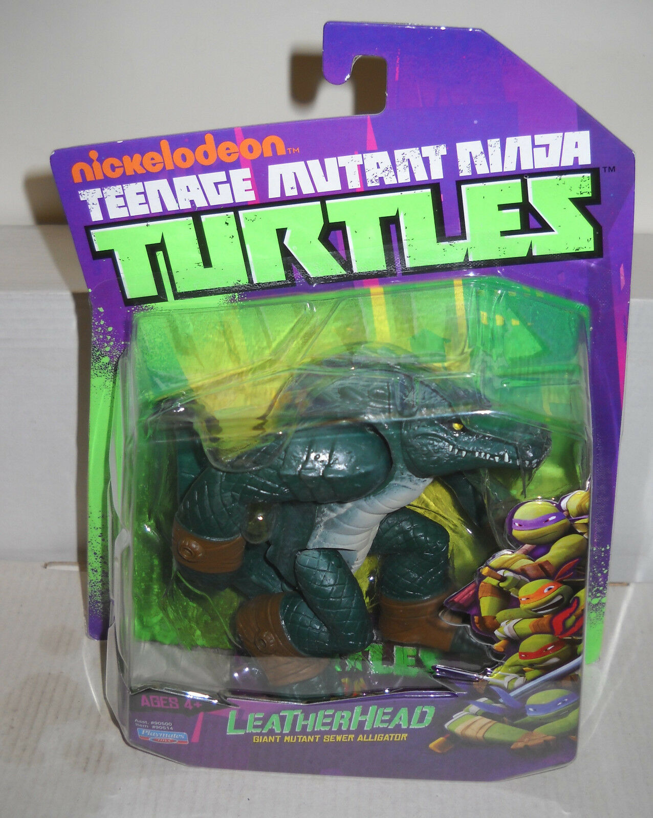 7253 NRFC Playmates Teenage Mutant Ninja Turtles Leatherhead Figure