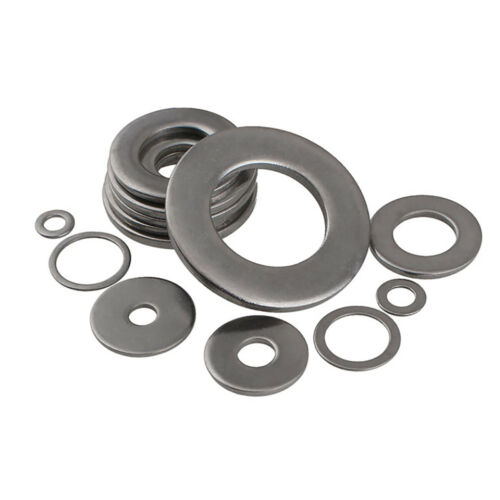 Flat Washers SUS 201 Stainless Steel M3 M4 M5 M6 M8 M10 M12