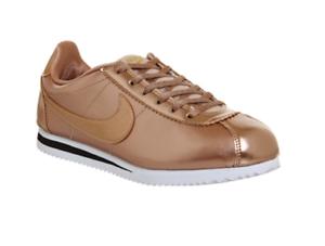 Nike 901 niños mujeres Bronze Niñas Se Metallic Trainers 859569 size Red Uk3 Cortez Yaq8BrwY