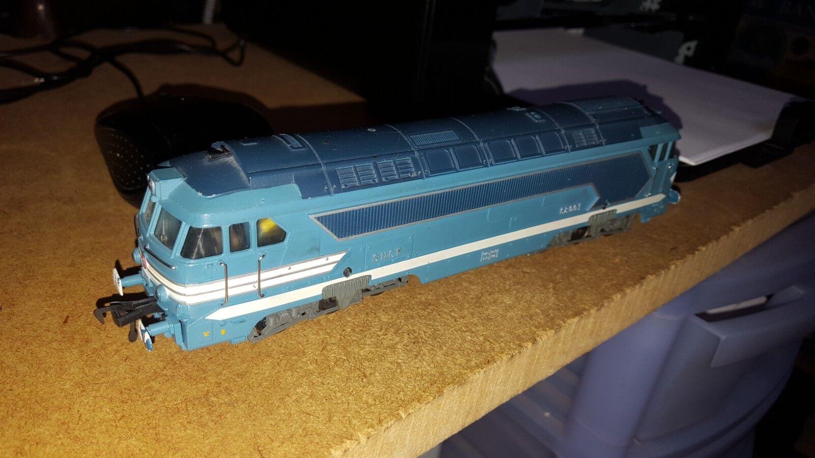 OO HO gauge FLEISCHMANN 4280 SNCF CLASS BR 68001 DIESEL LOCOMOTIVE  DCC working