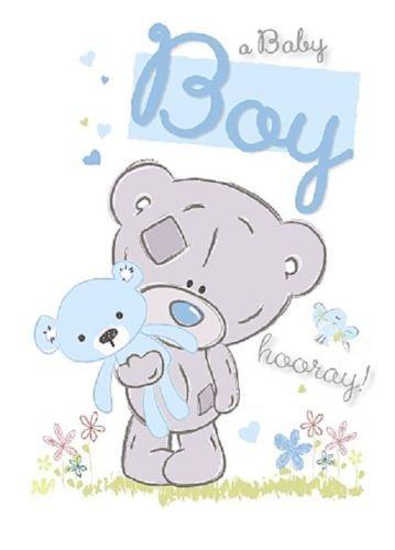 Me to you born baby boy birth congratulations greeting card ebay m4hsunfo