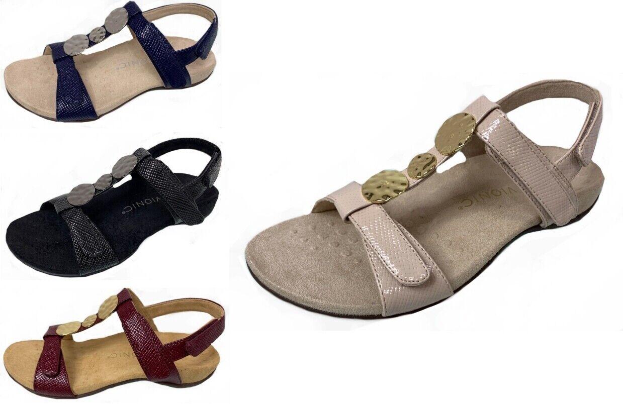 Vionic Rest Farra Lizard Sandal Orthotic Comfort WIDE FIT damen 4-8uk 4 colours    Verkaufspreis
