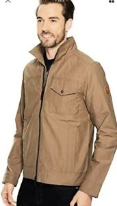 72ec2a3467c TIMBERLAND A17FI-838 MOUNT DAVIS MEN S BROWN WAXED CANVAS JACKET SZ ...