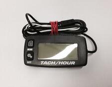Go Kart Digital Tachometer Hour Meter w/ Max RPM Recall 2/4 Stroke Waterproof
