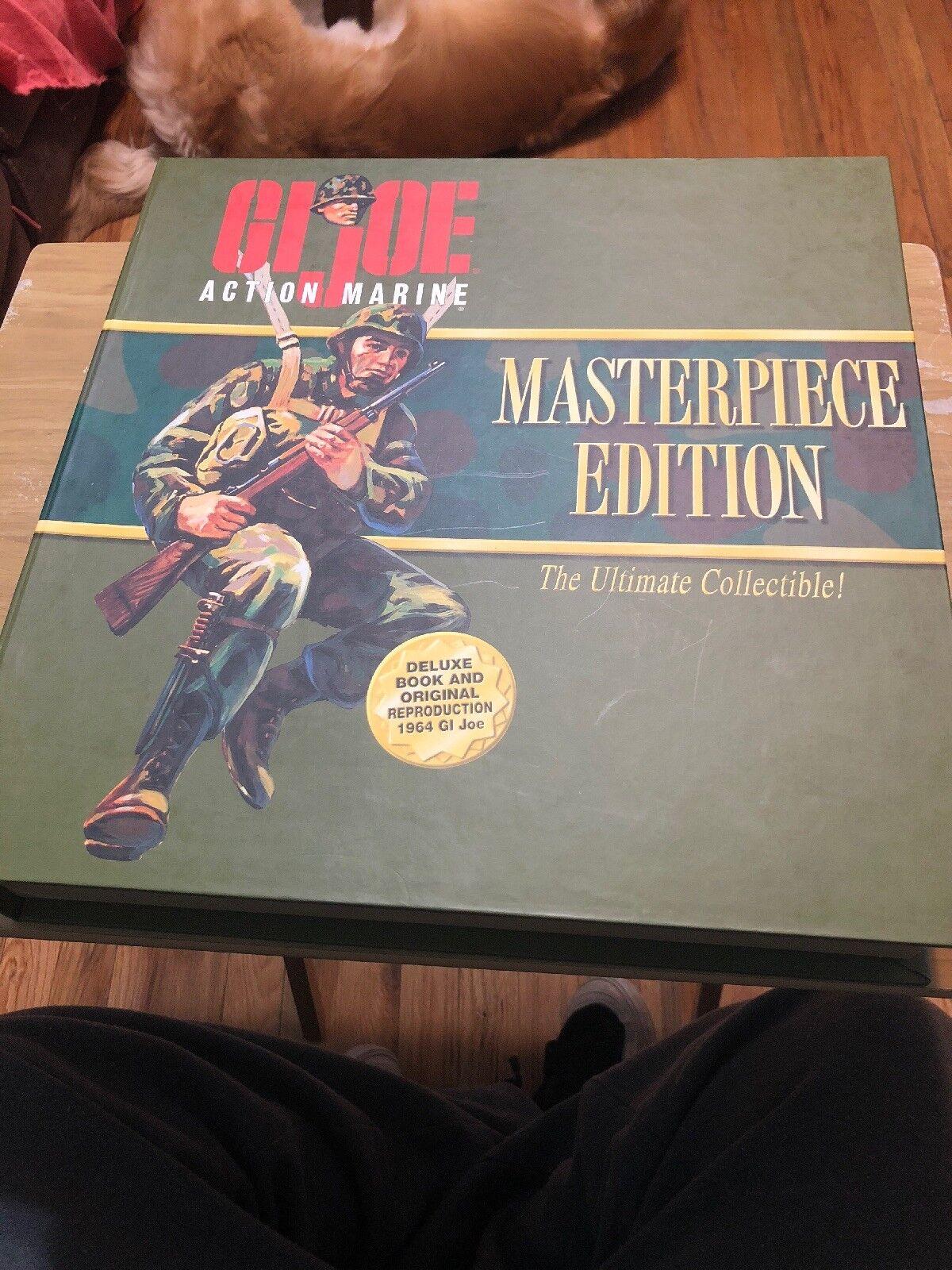 "GI JOE Action Marine Masterpiece Edition In Box 12"" Figure"