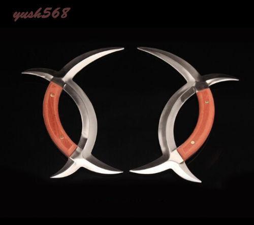 A Pair of Eight Diagrams Yuanyang Tomahawk. Chinese Martial Arts