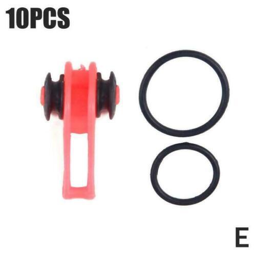 10pcs//lot Plastic Fishing Hook Secure Keeper Holder Accessories Jig Lure W4O2