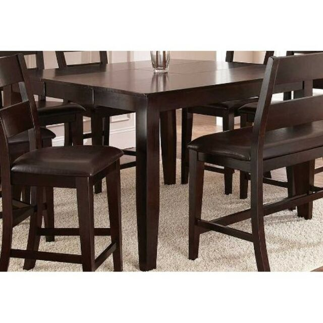 Steve Silver Company Victoria Counter Height W Erfly Leaf Mango Dining Table