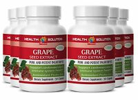 Antioxidant Protection Immune System Health Grape Seed Extract 100mg 6 Bottles
