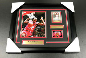 JOE SMITH MARYLAND TERPS Autographed SIGNED Card W/ 8x10 PHOTO FRAMED TERRAPINS