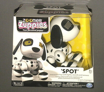 Zoomer Zuppies Spot Your Personal Puppy Interactive Pup Dog with Lights & Sounds