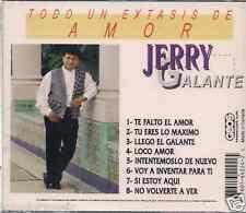 salsa rare CD JERRY GALANTE voy a inventarme para ti TU ERES LO MAXIMO loco amor