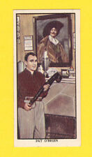 Pat O'Brien Vintage 1939 Milky Way Chocolate Bar Film Star Card
