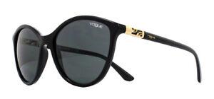 da W4487 sole Vogue 55mm Nero Grigio Vo5165s Occhiali 80XwOknP
