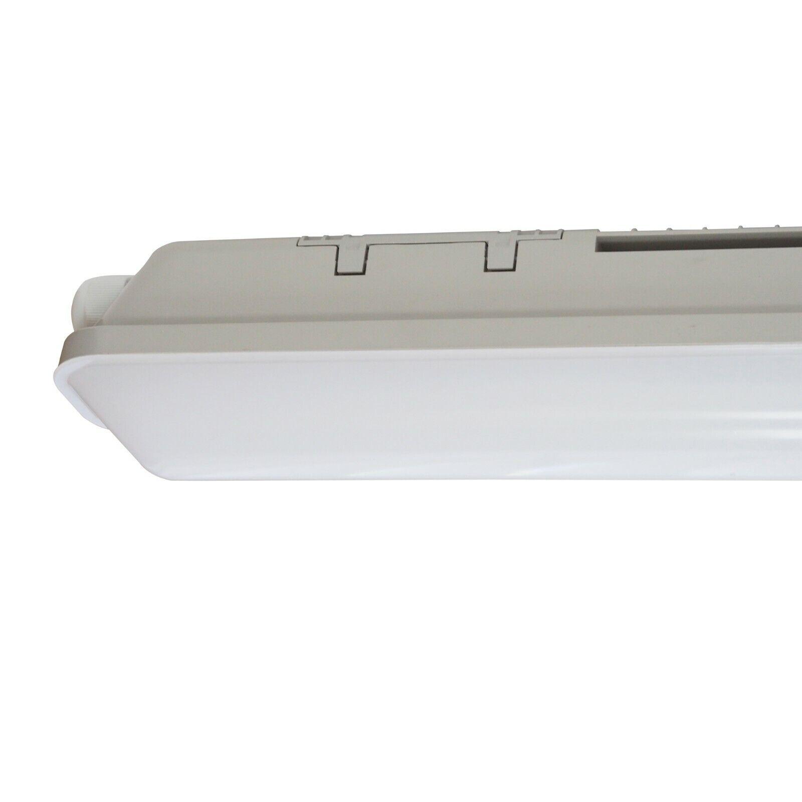 LED 4ft Anti Corrosive IP65 Industrial Batten 20 Watt 4000K Commercial Light x 6