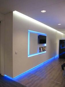 Details About Home Accent Led Lighting Kit Halway Bedroom Kitchen Den Shelves Wall Counter
