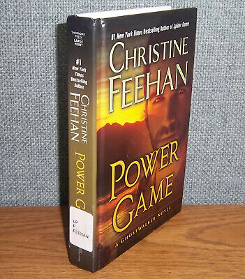 Power Game Christine Feehan Large Print Ghost Walker Series 13 Psychic Suspense 9781410496430 Ebay