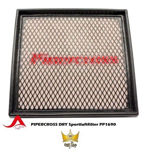 trocken PIPERCROSS Sportluftfilter PP1690 höherer Luftdurchlass auswaschbar