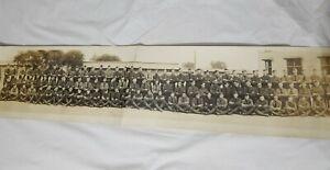 Camp-Dix-1918-Ambulance-Co-No-346-312th-Sanitary-Train-Panoramic-Troop-Photo-WW1