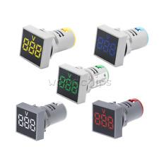 Digital Ac20 500v Led Light Panel Voltage Volt Meter Display Voltmeter 22mm
