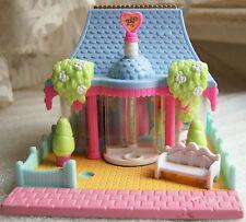 Vintage Polly Pocket Dress Shop set  w dolls acc's  Bluebird Toys