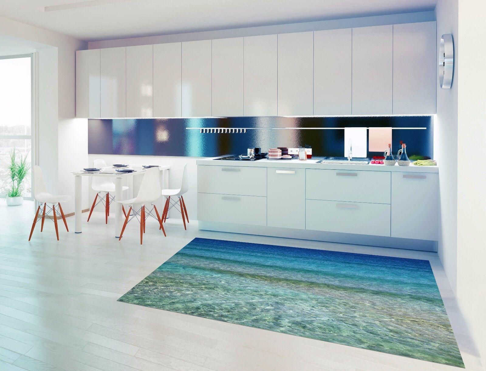 3D Sky Sea Water 4 Kitchen Mat Floor Murals Wall Print Wall AJ WALLPAPER UK Kyra