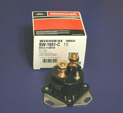NEW 12V SOLENOID FITS VARIOUS STARTERS BY PART NUMBER E9TZ-11450-A E9TZ-11450-B