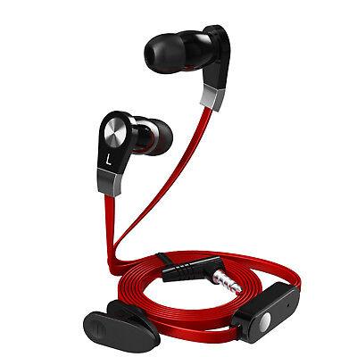 Radient In Ear Cuffie Cavo 3,5mm Con Microfono Cuffie Auricolari Jack Cellulare Stereo-