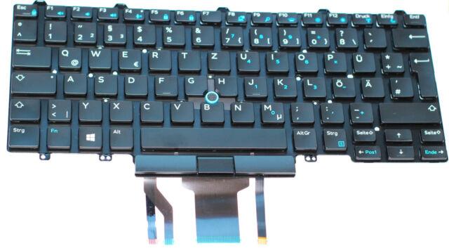 Dell Latitude 5491 Keyboard, German, LED Lit Backlit