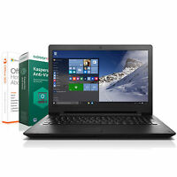 Lenovo Notebook 15,6 Zoll - Quad Core - 4 x 1.80 GHz  - 500 GB - Windows 10 Pro