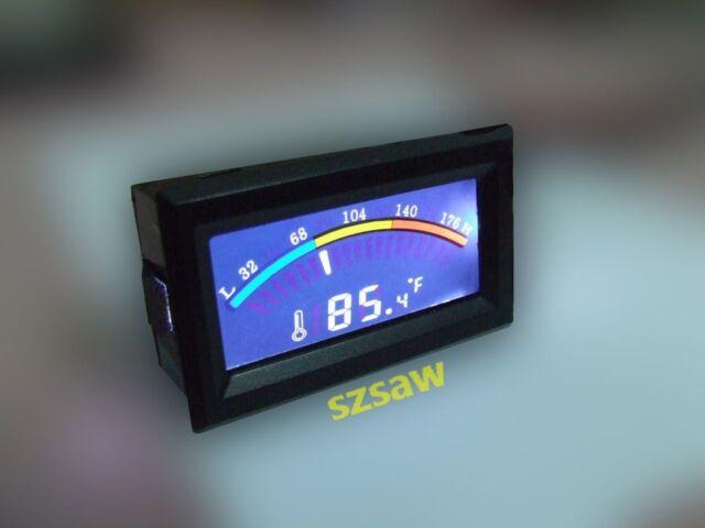 Digital Thermometer Temperature Meter 14~176F Fahrenheit Centigrade -10~80℃ PC