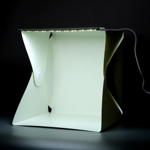 Portable Mini Photo Studio Box Photography Backdrop built-in Light Photo Box JL