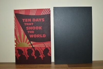 John Reed Ten Days That Shook The World Folio Society in Slipcase