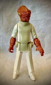 1982 STAR WARS - Admiral Ackbar - Vintage Kenner Action Figure