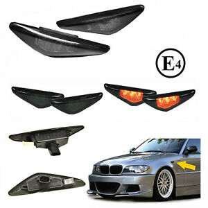 Details About Turn Singal Led For Bmw E46 Cabrio Coupe 03 05 Restyling Dark Approved