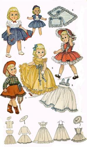 "Doll clothing PATTERN for Revlon Toni Sweet Sue Sophisticate 3729-21/"" P 93"