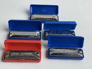 Adroit 5pcs Huang Harmonica 10 Trous Star Performer A, D, F, G, Bb Clé Harmonicas-afficher Le Titre D'origine