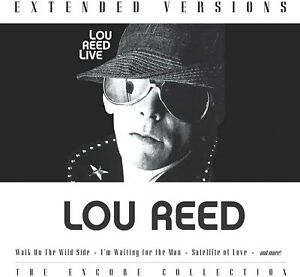 Lou Reed -  Extended Versions (Live) (CD)  NEW/SEALED  SPEEDYPOST