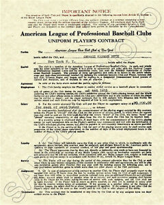 Babe-Ruth-Signed-Contract-1930-1931-New-York-Yankees
