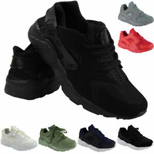 New Mens Running Trainers Womens Fitness Gym Sports Comfy Lace Up Shoes Size
