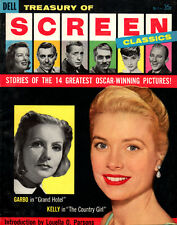 Vintage 1957 SCREEN CLASSICS #1 Grace Kelly MONTGOMERY CLIFT Greta Garbo GWTW