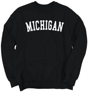 Michigan-Athletic-Student-Gym-Vacation-MI-Crewneck-Sweat-Shirts-Sweatshirts
